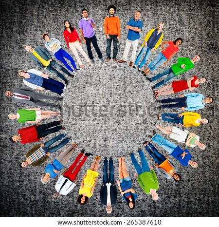 People Diversity Group Global Community Ethnicity Concept