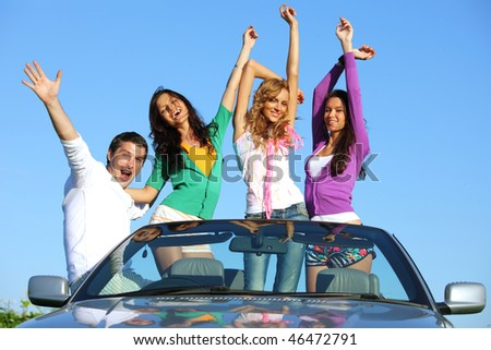 people group  fun - stock photo