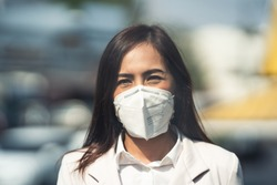 People in the Asian capital city are experiencing more PM 2.5 with higher AQI dust values.