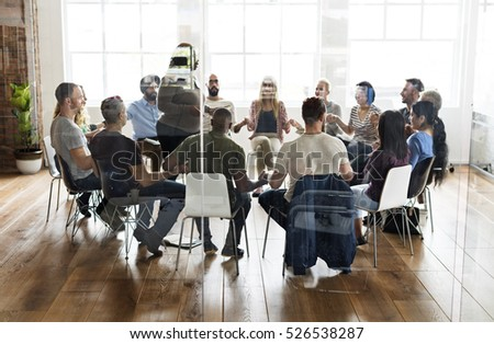 People Meeting Seminar Office Concept #526538287
