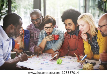 People Meeting Social Communication Connection Teamwork Concept