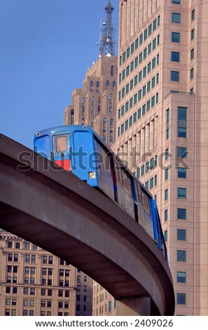 People Mover Close-up