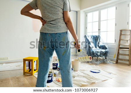 People renovating the house
