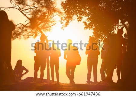 people see sunset  #661947436