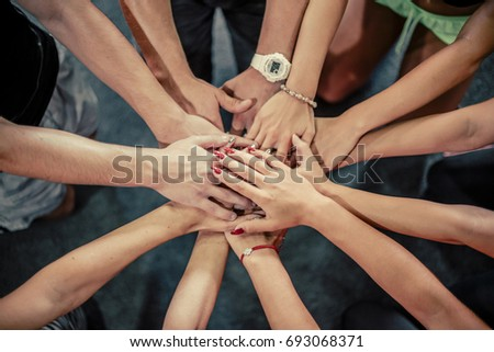 People working together, success concept