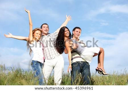 peoples fun in the sky