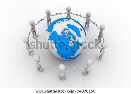 Peoples Joining Hands to PROTECT the EARTH