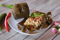 Pepes tahu is one of indonesia's tradisional foods orginating from west java indonesia