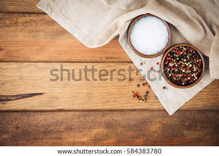 Pepper and salt  Zdjęcia stock ©