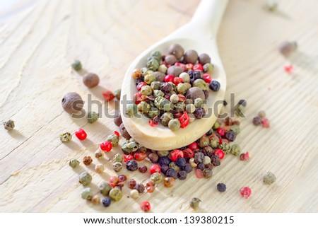 pepper in spoon