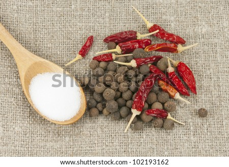 pepper mix and salt