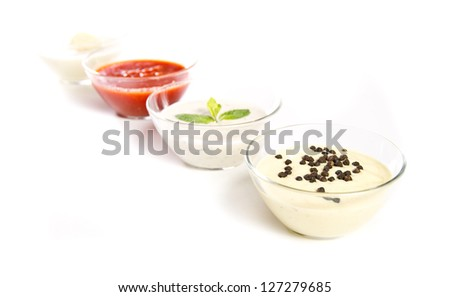 Pepper sauce and other sauces/dips