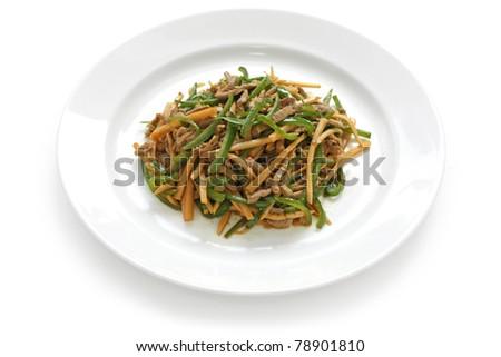 pepper steak , chinese food