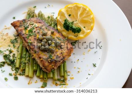pepper steak on white plate