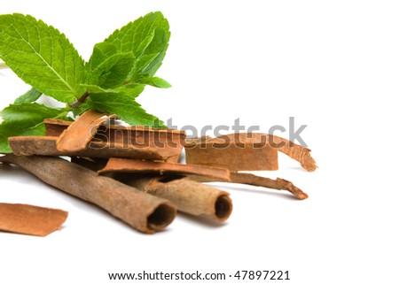 stock-photo-peppermint-mentha-piperita-and-cassia-bark-over-white-47897221.jpg