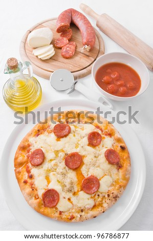 Pepperoni Pizza.