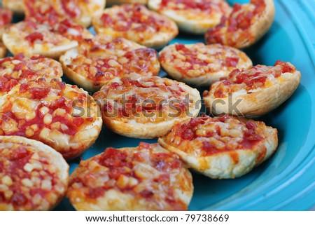 Pepperoni Pizza Snacks Stock Photo 79738669 : Shutterstock