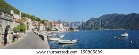 Perast town - Kotor bay