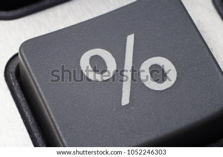 percent gray button