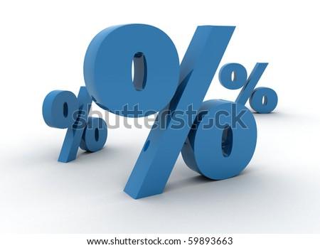 Percentage symbols