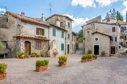 Percile, beautiful village in the province of Rome, in the italian region of Lazio.