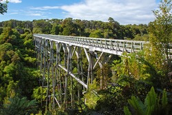 Percy Burn viaduct, New Zealand