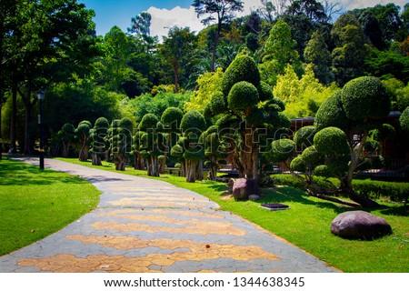 Perdana Botanical Garden - beautiful park in Kuala Lumpur, Malaysia