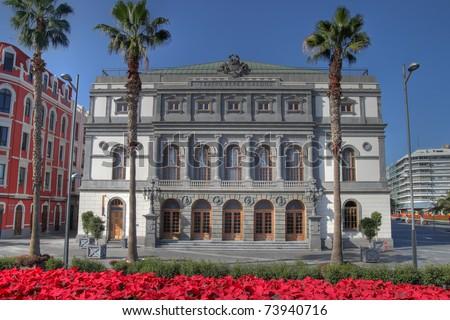 Perez Galdos Theatre, Las Palmas de Gran Canaria, Spain