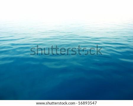 Perfect blue sea