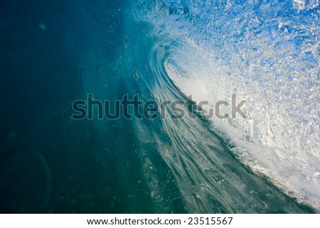 Perfect Blue Wave, In the Tube