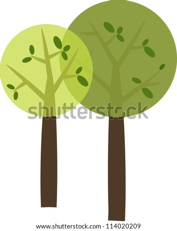 Perfect round trees