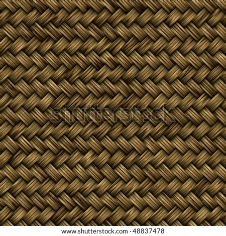 Perfect seamless tiling wicker texture.
