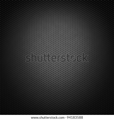 perforated carbon fiber background