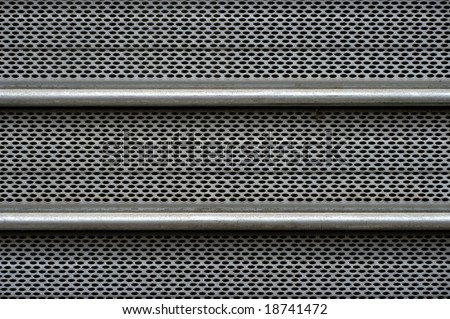 Perforated metal sheet.Seamless picture