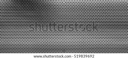 Perforated stainlees steel #519839692