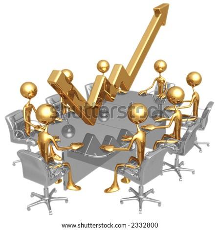 Performance Meeting - stock photo
