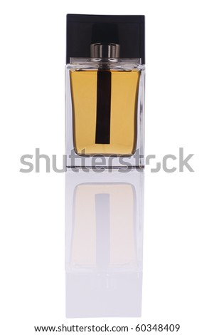 Perfume bottle (with clipping path)