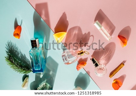 Perfume bottles with different fragrances for men and women #1251318985