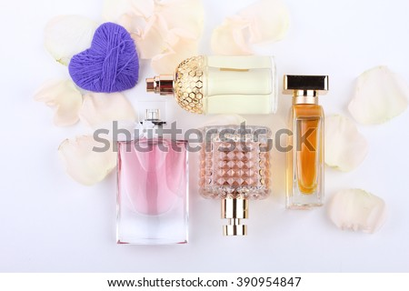 Perfume, Scented, Perfume Sprayer with flower and heart shape