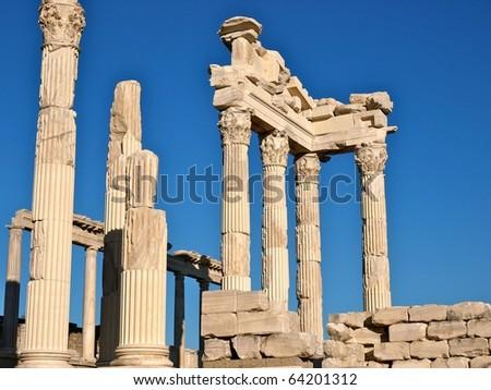 Pergamon Temple Turkey