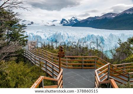 Perito Moreno glacier, El Calafate, Argentina.