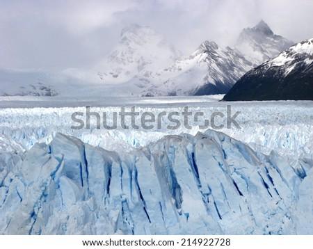 Shutterstock Perito Moreno Glacier in Los Glaciares National Park in the Santa Cruz province, El Calafate, Patagonia, Argentina, South America