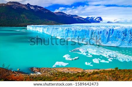 Perito Moreno glacier in Patagonia, Argentina Photo stock ©