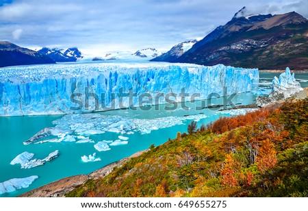 Shutterstock Perito Moreno glacier panoramic landscape in Patagonia, Argentina