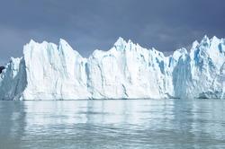 Perito Moreno glacier. Patagonia. Argentina.
