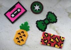 Perler beads creations (hama beads)