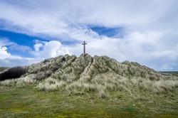 Perran cross near perranporth beach