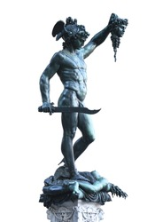 Perseus with the Head of Medusa in Firenze - Italy