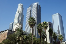 Pershing Square in Los Angeles