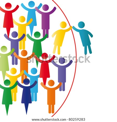 Person join people members company group